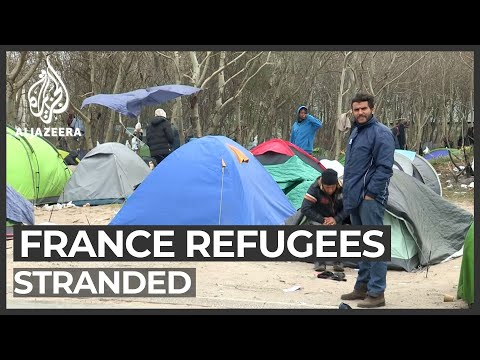 Migrants, refugees remain stranded in Calais amid COVID-19 crisis
