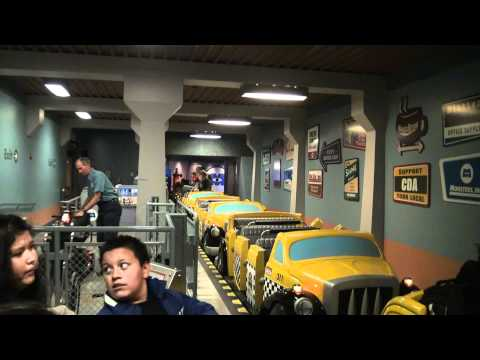 2011 DCA Monsters Inc On Ride POV Entrance to Exit Sept 25th HD (1080p)