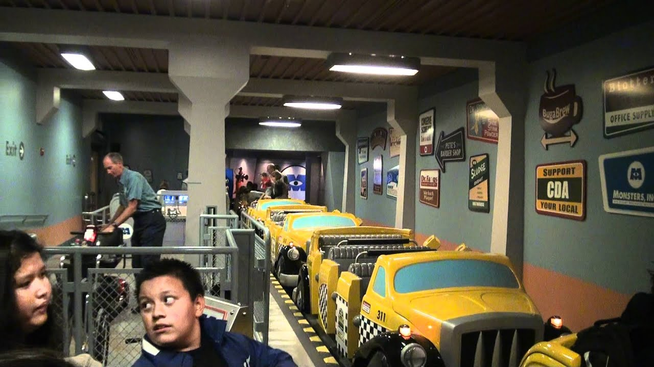 2011 Dca Monsters Inc On Ride Pov Entrance To Exit Sept