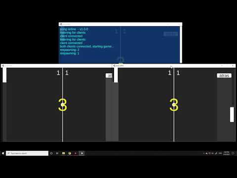 Pong online unity