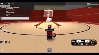 How to shoot 3s in ROBLOX NBA Hoopz