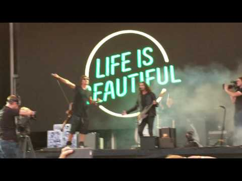 Third Eye Blind - Wounded (Live) - Life is Beautiful 9.25.16