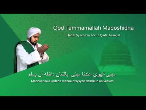 Lafadz Lirik Qod Tammamallah - Habib Syech