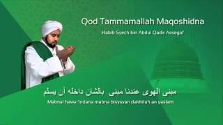 Download Mp3 Lafadz Lirik Qod Tammamallah - Habib Syech