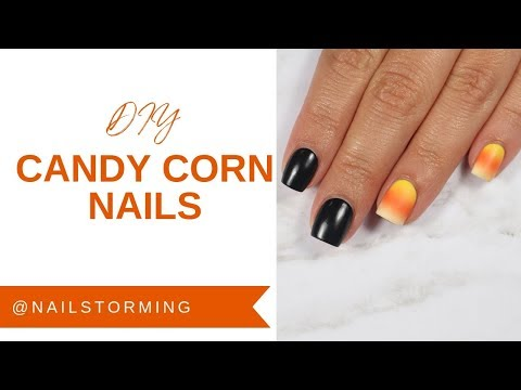 Mani Monday: Candy Corn Cuteness With @nailstorming