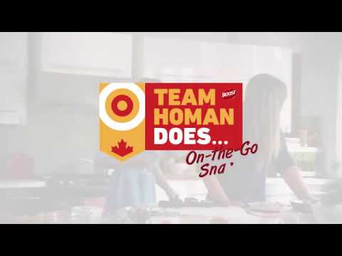 Team Homan Does… On-The-Go Snacks – NEW SERIES BY BOOST®