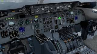 P3D DC-10 RJTT RWY34 Landing