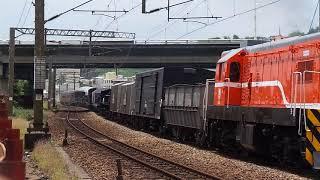 20180816 112044 7202次貨物列車通過華安街(手晃見諒)