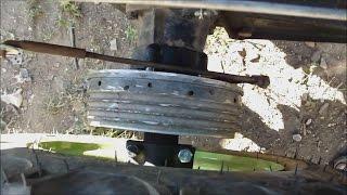 ЗУБР Q79E! Тормоз на мотоблоке от мотоцикла ИЖ!