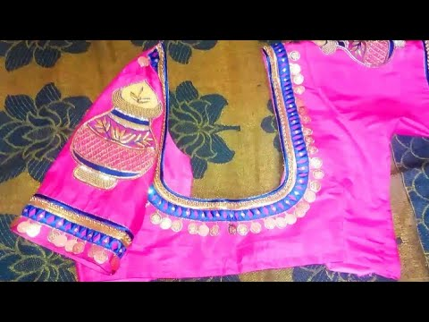 Latest kasula Designer Blouse#Kasula maggam work Blouse#maggam work sree Blouse