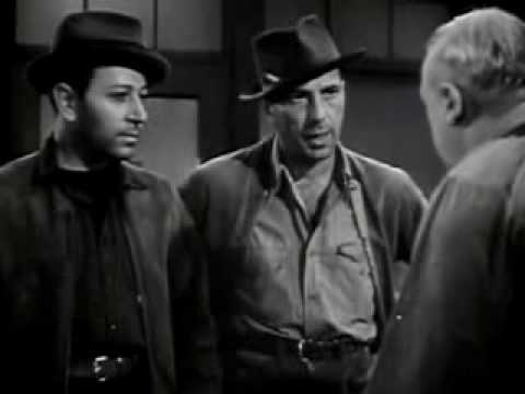 "Humphrey Bogart & George Raft In  ""They Drive by Night"""