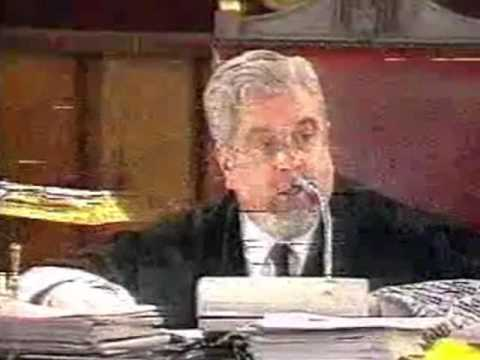 1997- Tensión en el juicio de Alcasser entre letrados, fiscal y juez