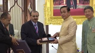 เอกอัครราชทูตรัฐสุลต่านโอมานประจำประเทศไทย เข้าเยี่ยมคารวะนายกรัฐมนตรี