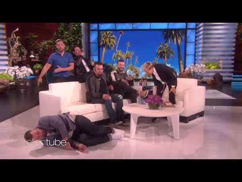 *NSYNC on Ellen - Joey Fatone Bobblehead Fall
