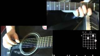 Мертвые дельфины - На моей луне (Уроки игры на гитаре)