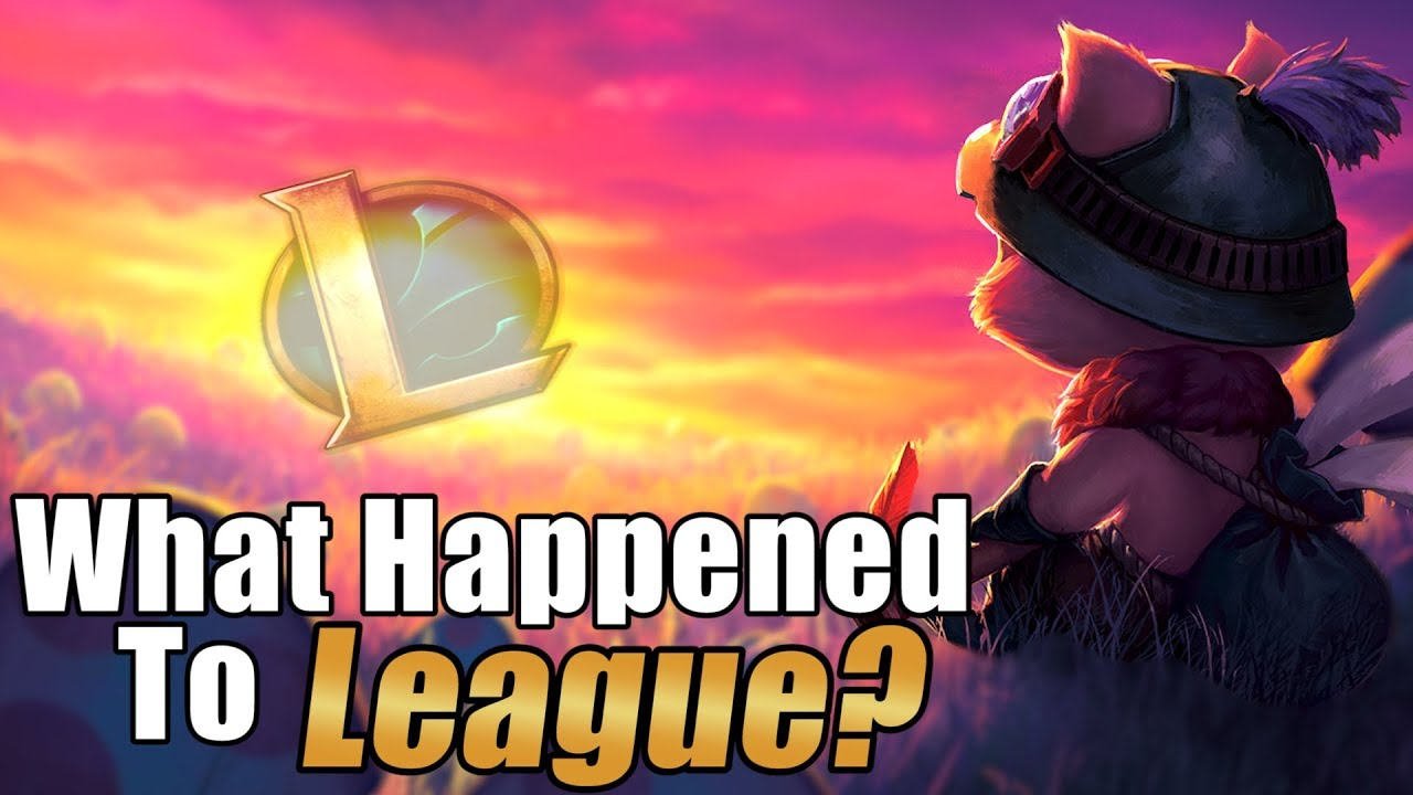 what happened to league of legends youtube