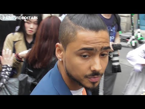 VIDEO Quincy BROWN attends Paris Fashion Week 19 june 2019 show Off-White - juin