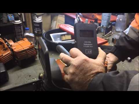 Tachometer's For Chainsaw's And Husqvarna 372XP
