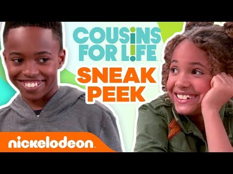 Sneak Peek of Nick's Brand New Comedy 'Cousins for Life' | Nick