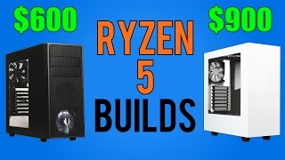 Ryzen 5 PC Builds | 1500X 1600X | April 2017