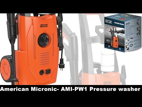 American Micronic- AMI-PW1 Pressure Washer Review from YouTube · Duration:  9 minutes 45 seconds