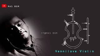 Vennilave BGM | Balabhaskar | Violin cover | Free Ringtone Link👇 | Tamil whatsapp status | Mas BGM
