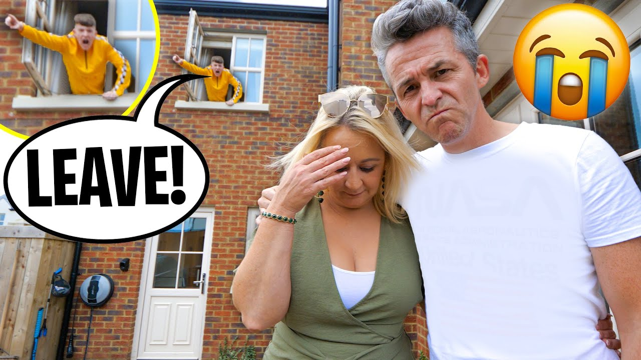 I kicked my parents out of the house I bought them...