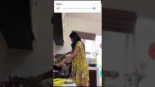 Bigo Live Tante Lagi Masak Cuma Pakai Daster Nggak Pakai BH Tetek Gundal Gandil