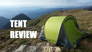 KMART 3 Man Pop up Tent Review, the