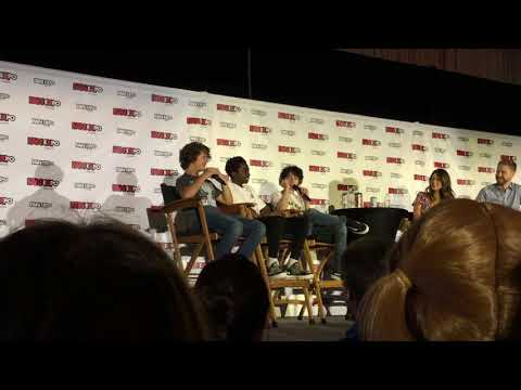 Stranger Things Q&A At Fan Expo 2017 - Clip 1