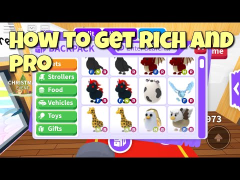 How To Get Super Rich And Pro In Roblox Adopt Me