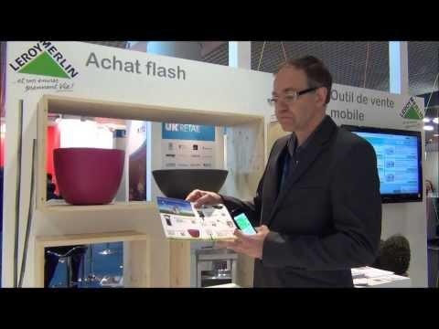 Trust Designer pour Leroy Merlin - Une application mobile pour un achat flash, MAPIC 2012