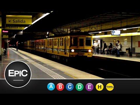 Subterráneos de Buenos Aires (Todas las Líneas & Galerías) / Subway of Buenos Aires (HD)