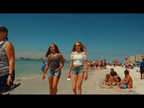 (4K) SPRING BREAK 2018 CLEARWATER BEACH