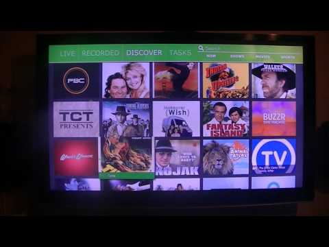 HDHomeRun DVR Windows 10 Client Overview - YouTube