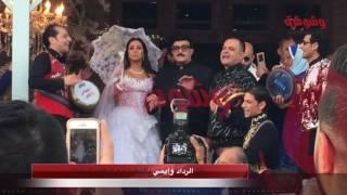 خاص بالفيديو..'الرداد' على اليخت.. و'إيمي' بجانب والدها في الزفاف الأشهر بالوسط الفني