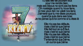 keen'v - je n'y arriverai pas ( officiel video lyrics )