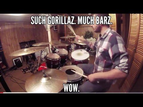 SallyDrumz - Gorillaz - Saturnz Barz (Spirit House) Drum Cover/Remix