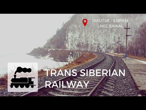 Trans Siberian Railway - Irkutsk 5,185km    Lake Baikal (Ep6)