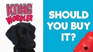 KONG Wobbler Treat Dispensing Dog Toy Review