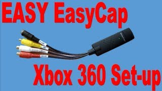 EasyCap - Xbox 360 Setup video - Record your Xbox for less than £10