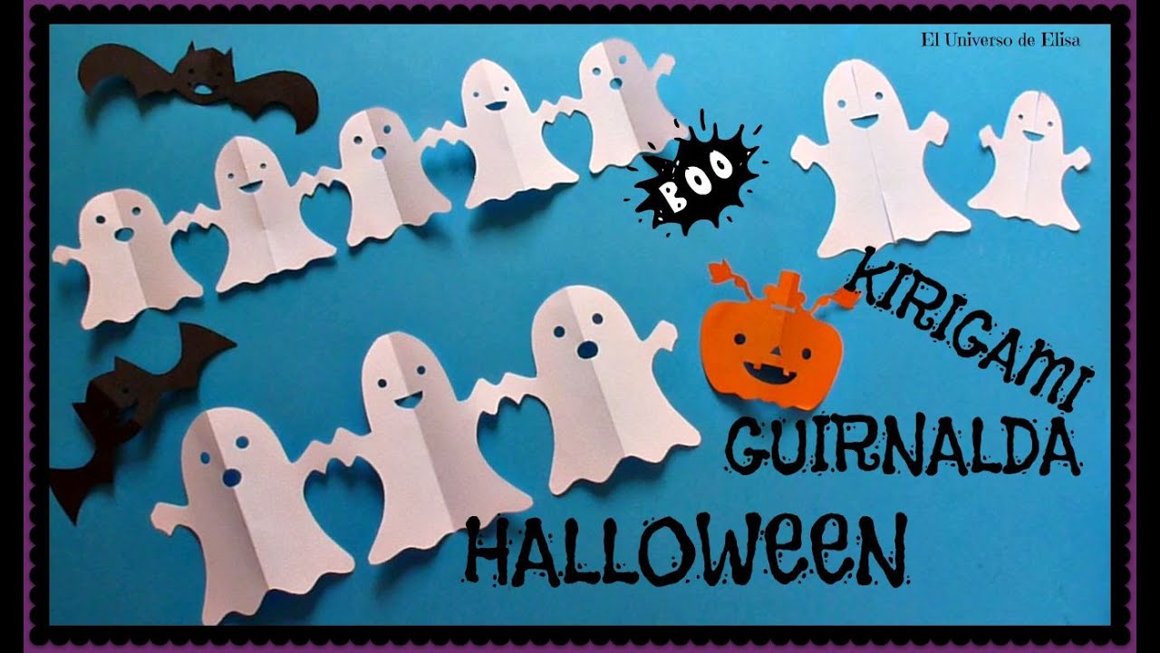 Decora tu cuarto en halloween con fantasmas de papel for Decoracion con papel