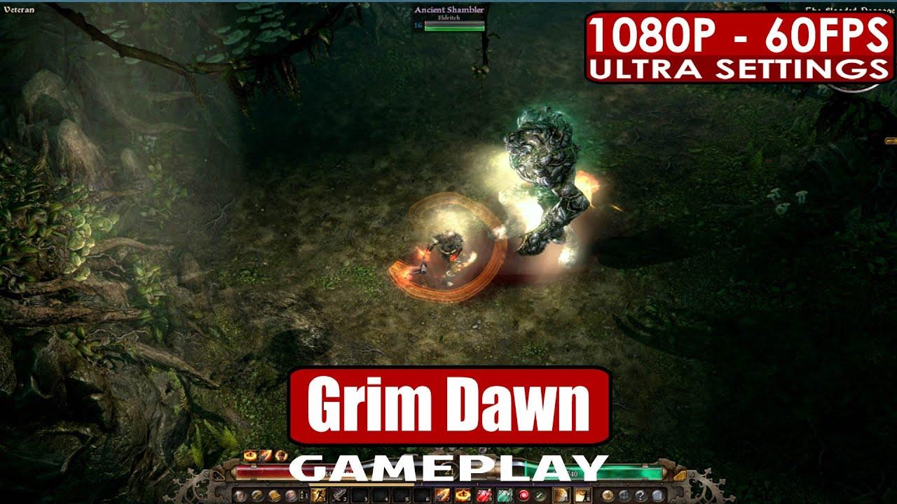 Grim Dawn gameplay PC HD [1080p/60fps]