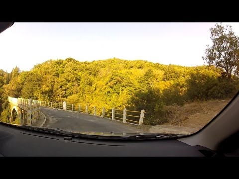 Tripoli to Kastri (mountain road driving, Greece) - onboard camera