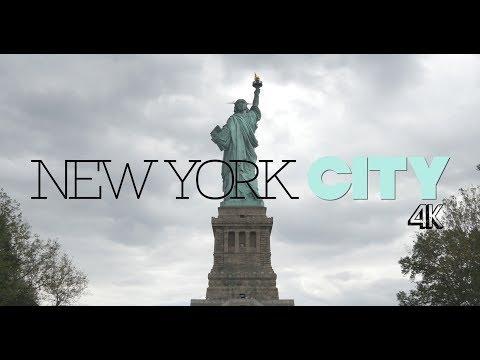 NEW YORK CITY Shoot and Run // PART 4 // Miss Liberty // Smorgasbord // Wall Street // 4K