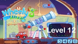 "Wheely 8: Aliens Level 12 ""The End"" By Kizi Walkthrough"