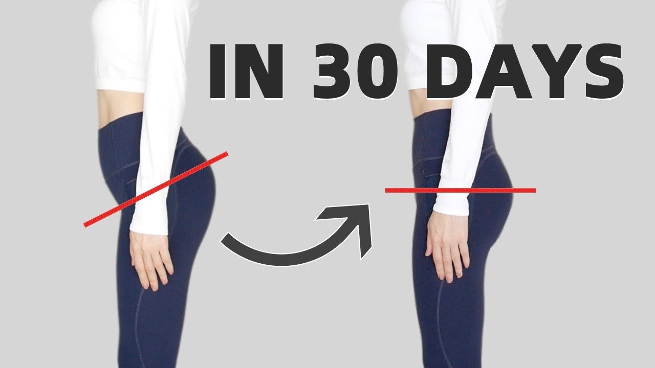 8 Min Exercises to Fix Anterior Pelvic Tilt FAST | Relieve Lower Back Pain & Look Taller!