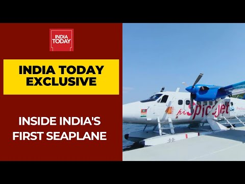 Inside India First Seaplane From Kevadia To Sabarmati Riverfront | India Today Exclusive