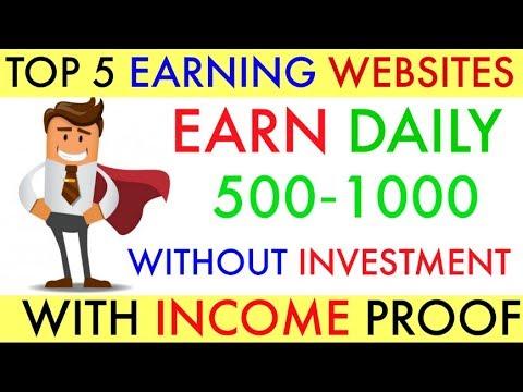 top earning websites of 2018