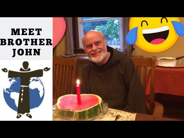 Conversations with the Capuchins- Meet Brother John